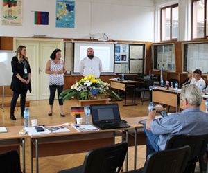 Team International beim Transnationalen Projektmeeting der Strategischen Partnerschaft in Veliko Tarnovo, Bulgarien